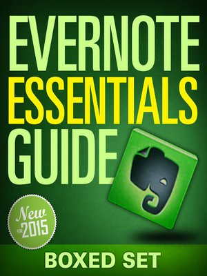 cover image of Evernote Essentials Guide